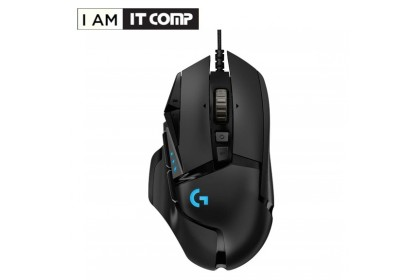 Logitech G512 Carbon RGB Mechanical Gaming Keyboard - Clicky & G502 HERO High Performance Gaming Mouse