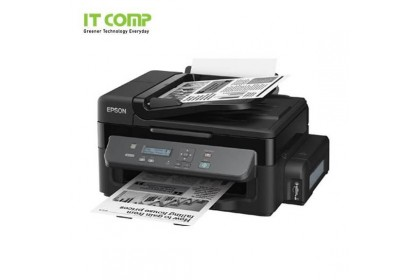 Epson M200 (Print/Scan/Copy) with 30-sheet ADF - Original Ink Tank System High Performance B&W Printer (Black)