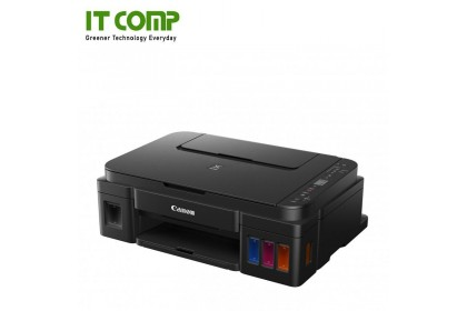 Canon PIXMA G3010 Refillable Ink Tank All-In-One Wireless Printer (Not applicable for MAC OS) With RM50 TnG E-Voucher