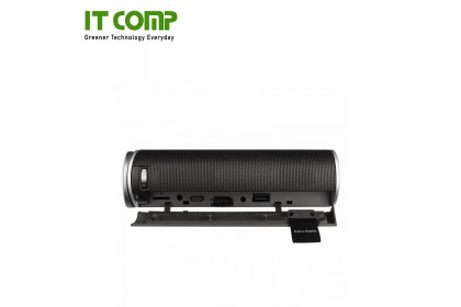 Viewsonic M1+ 300 ANSI Lumens Portable Projector with Wi-FI, BT input and Dual Harman Kardon Speakers & Built-in Battery