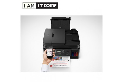 Canon PIXMA G7070 Refillable Ink Tank Wireless All-In-One with Fax for High Volume Printing