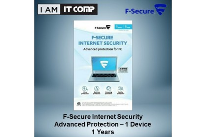 F-Secure Internet Security (1 Device, 1 Years)
