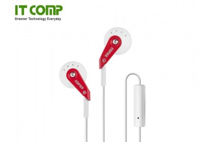 Edifier P185 High Quality Mobile/Cell Phone Handfree - Red