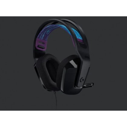 Logitech G335 Wired Gaming Headset With Mic and Comfortable Headband Black / White ( 981-000979 / 981-001019 )