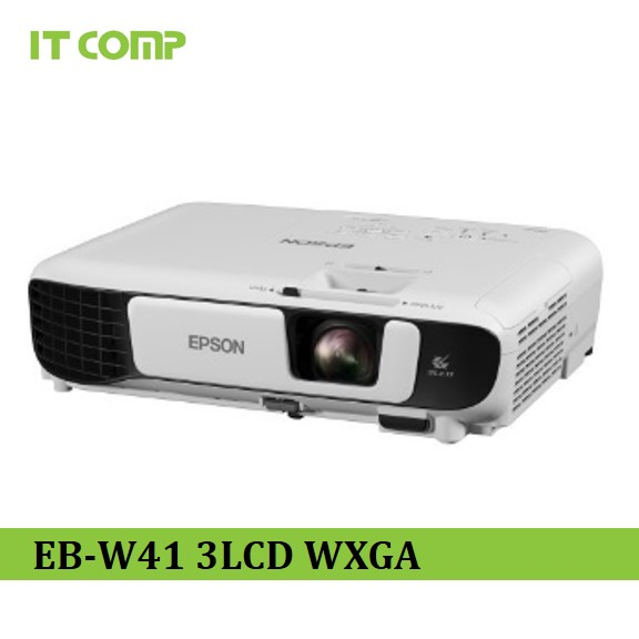 EPSON EB-W41 WXGA 3LCD PROJECTOR WITH 3600 LUMENS FREE HDMI CABLE & CARRYING CASE