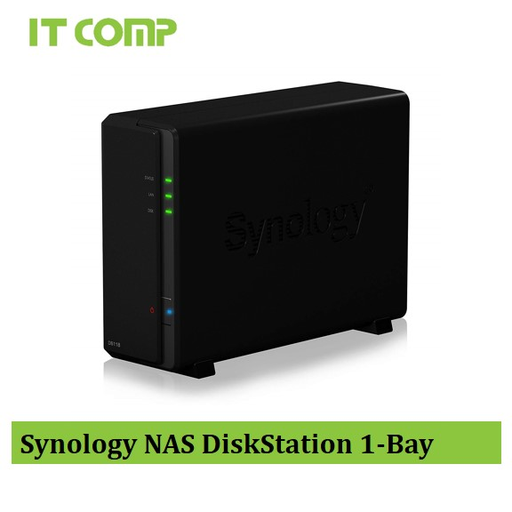 Synology NAS DiskStation 1-Bay (DS118)