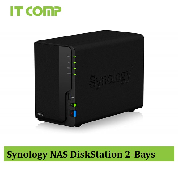 Synology NAS DiskStation 2-Bays (DS218+)