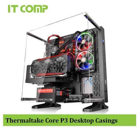 Thermaltake Core P3 ATX Wall-Mount Chassis CA-1G4-00M1WN-00