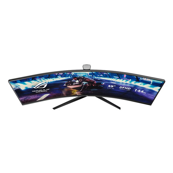 ASUS 32 Inch ROG Strix XG32VQR Curved HDR Gaming Monitor WQHD (2560x1440), 144Hz, FreeSync 2 HDR, DisplayHDR 400, DCI-P3 94%, Shadow Boost