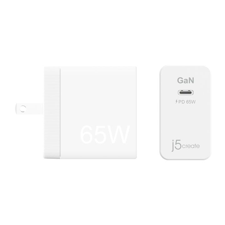 J5Create JUP1365 65W USB-C Wall Charger with Power Delivery 3.0 ( JUP 1365 ) / TYPE-C Charger